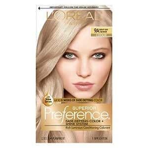 Tinte para el cabello rubio claro L'Oréal Paris (1 kit)