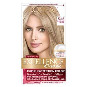 Tinte para cabello rubio champán L'Oréal Paris (1 kit)