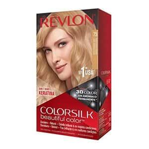 Tinte 3D color rubio cálido dorado Colorsilk