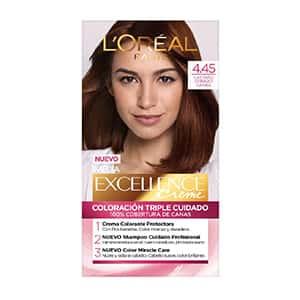 Tinte para cabello cobrizo caoba L'Oréal Paris °