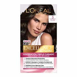 Tinte capilar castaño oscuro L'Oréal Paris