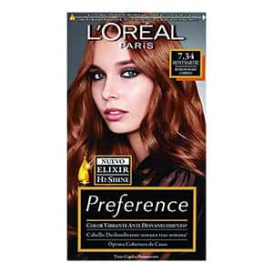 Tinte para cabello cobrizo dorado L'Oréal Paris °