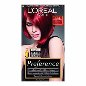 Tinte para cabello oscuro rojizo L'Oréal Paris 6.66