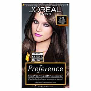 Tinte para cabello castaño claro L'Oréal Paris