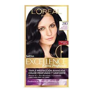 Tinte para cabello negro azulado L'Oréal Paris 280