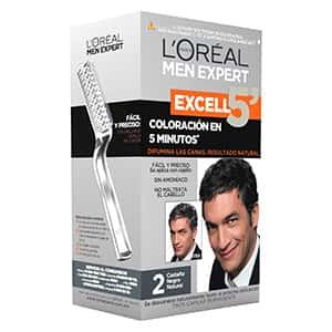 Tinte de cabello castaño negro para hombre L'Oréal °