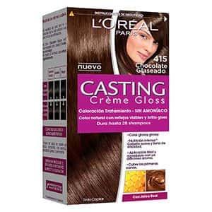 Tinte para cabello chocolate glaseado L'Oréal °