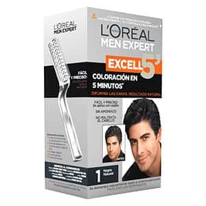 Tinte de cabello negro para hombre L'Oréal °