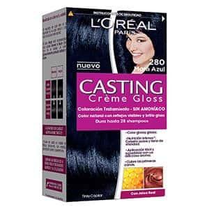 Tinte para cabello negro azulado Gloss L'Oréal Paris