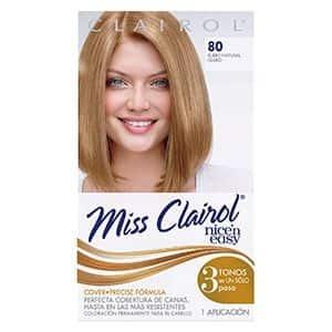 Tinte para Cabello rubio claro Miss Clairol