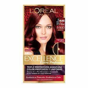 Tinte para cabello rojizo profundo L'Oréal Paris 4460