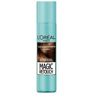 Tinte spray retocador raíz castaño claro L'Oréal °