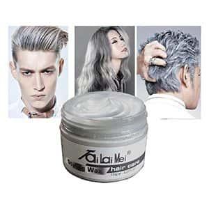 Tinte cera para cabello gris plateado Tai Lai Mei °