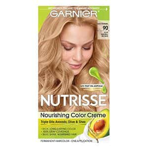 2 Tintes para el cabello rubio claro Garnier Nutrisse