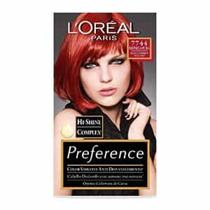 Tinte para cabello rojo intenso L'Oréal Paris 7744
