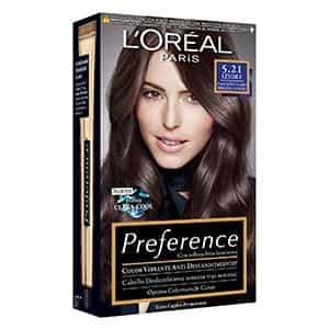 Tinte para pelo castaño claro rrisado L'Oréal Paris