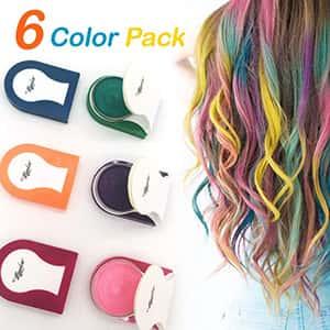 Tinte Tiza para el cabello 6 colores Maydear º