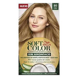 Tinte sin amoniaco para cabello rubio claro °