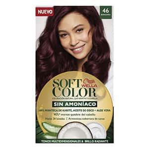 Tinte para cabello borgoña Soft Color °