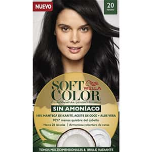 Tinte sin amoniaco para cabello negro °