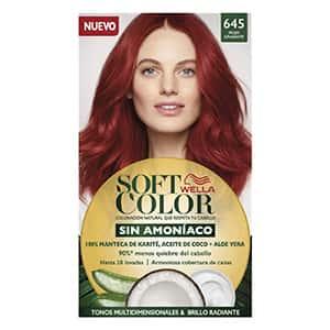 Tinte sin amoniaco para cabello rojo °