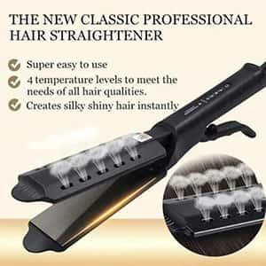 Alisador de cabello con liberador de vapor °