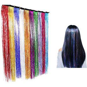 Extensiones luces para pelo con pinza 10 colores