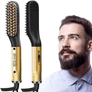 Plancha peine de cabello para hombre control de temp. °