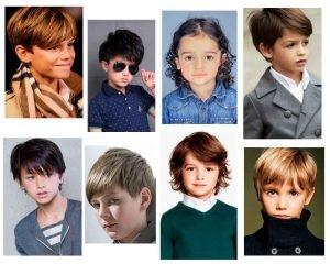 Peinados para niños con cabello largo