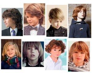 Peinados para niños con pelo largo