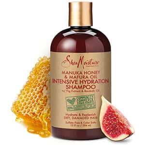 Shampoo hidratante para cabello seco SheaMoisture °