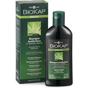 Shampoo anti-caspa, seca y grasa Biokap °