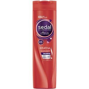 Shampoo para cabello con Keratina Sedal °