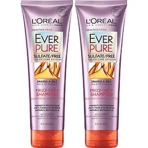 2 Champús para cabello anti-frizz L'Oreal °