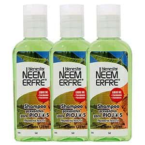 Set 3 Shampoo repelente de piojos Neem °