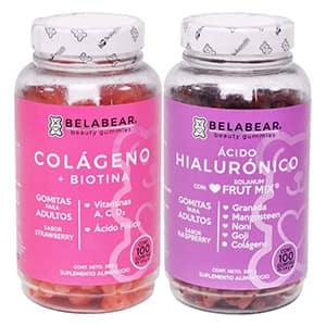 Biotina/ácido/hialurónico colágeno para el cabello °