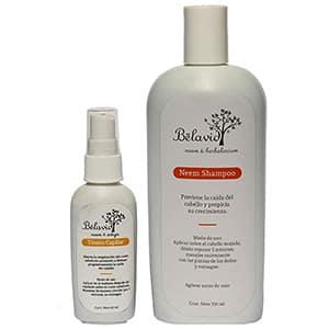 Shampoo y tónico capilar anti-caída Neem °