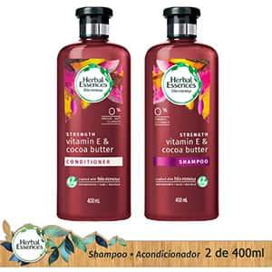 Shampoo/acondicionador vitamina E contra orzuela °