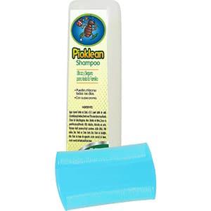 Shampoo/peine para piojos y liendres Pioklean °
