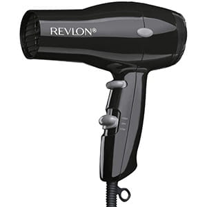 Secador turbo Revlon Rvdr5034 1875w, 2 velocidades, negro