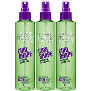3 Gel en Spray para cabello rizado Garnier °