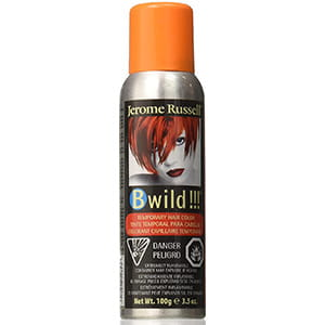 Spray color naranja para cabello 3.5 oz Jerome Russell °