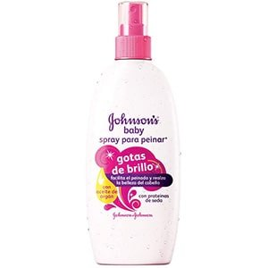 Acondicionador en spray gotas de brillo Johnson's Baby °