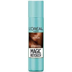 Spray retocador canas en raíces rojo L'Oréal 75ml °