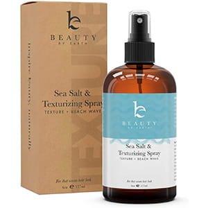 Spray de sal marina para cabello – Agua salada en spray para cabello con aloe vera, parabeno y sulfato última intervensión para estilo de pelo de playa, 6 onzas (177.44ml)