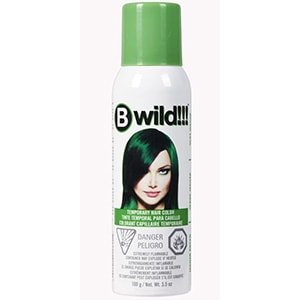 Spray para cabello color verde Jerome Russell 3.5 oz °