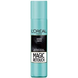 Spray retocador de canas raíces negro L'Oréal 75ml °