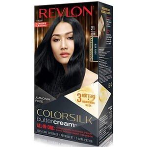 Tinte para cabello negro azulado Revlon Tono 21 °