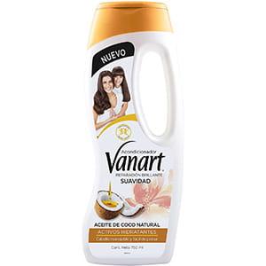 Acondicionador para cabello de coco Vanart 750ml °