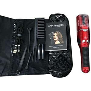 Recortador de cabello con puntas abiertas recargable USB °